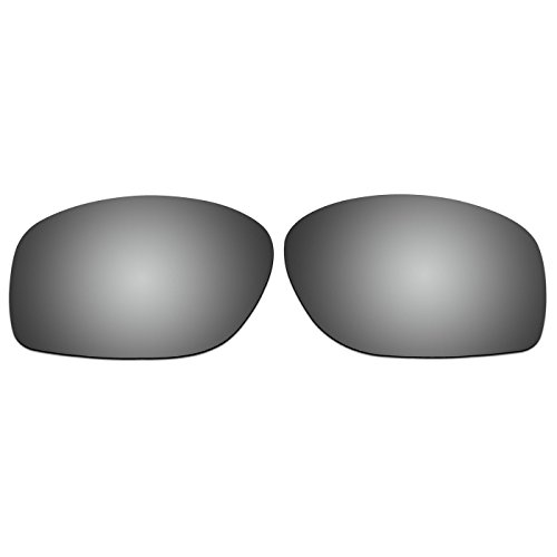 ACOMPATIBLE Replacement Lenses for Oakley Conductor 8 Sunglasses OO4107 (Titanium – Polarized) Review