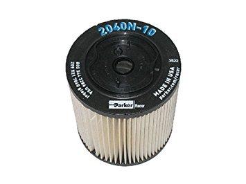 Racor 2040 2040TM 10 Micron Fuel Filter Elements QTY (Racor Filter Element)