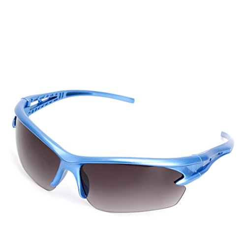 Xuniu Soleil Air Course pour Moto Protection Lunettes Bleu UV Bleu Motocycle Plein de 12cm Cyclisme Sport Lunettes en de YF0qZYr