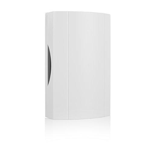 Byron 776 wired door chime – White – Inbuilt transformer