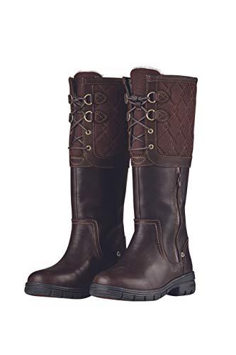 Dublin Teddington Boots Chocolate Ladies 6.5