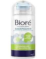Bioré Poederpeeling - met bakpoeder - 2 x 125 g - droge tot vette gemengde huid - pH-neutrale reiniging