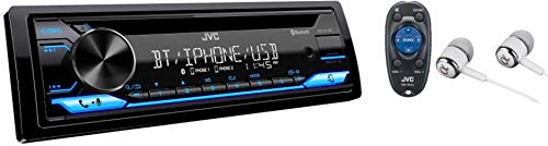JVC Single-Din Built-in Bluetooth