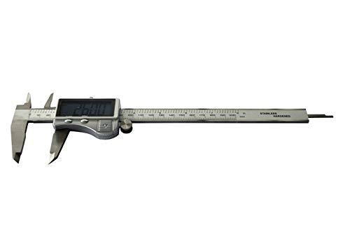 PAULIMOT Messschieber Schieblehre 200 mm digital INOX