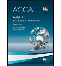 Accountant in Business: Revision Cards ACCA F1