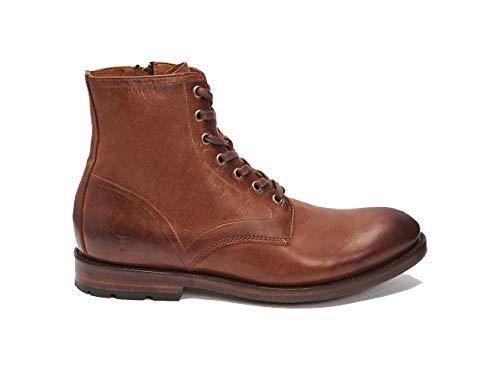 (FRYE Men's Bowery Lace Up Boot, Cognac - 14 M US)