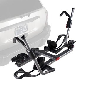 Cheap Yakima Holdup 2-Bike Hitch Mount Rack with Lock Cable (2-Inch Receiver)
