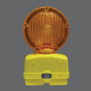 Traffic Barricade Flashing Light