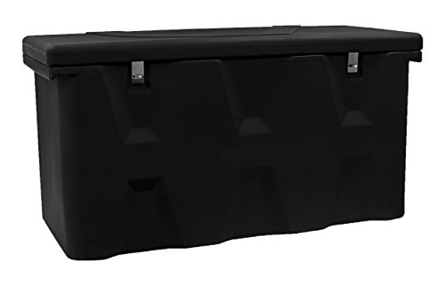 Box Frame Truck - Buyers Products Black Poly All-Purpose Chest (15.8 Cubic ft.)