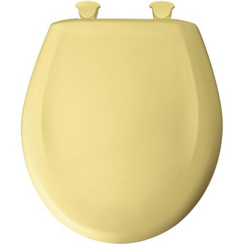 Bemis 200SLOWT 211 Round Closed Front Toilet Seat, Yellow by...