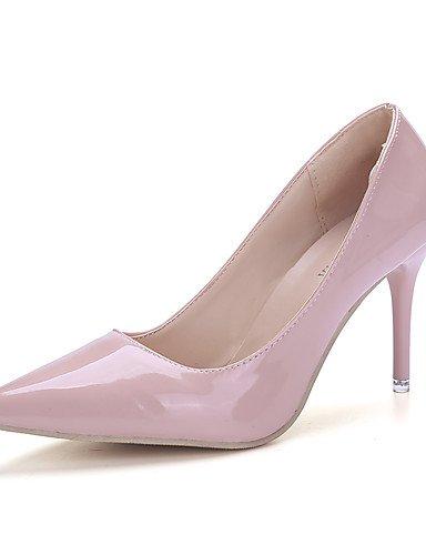talones la us8 oficina zapatos de mujer silver talones tac¨®n rojo aguja ZQ de carrera cuero tarde amp; sint¨¦tico silver negro Textiles partido cn35 Home 5 uk3 eu36 cn39 de amp; 5 ocasional us5 red eu39 uk6 cn39 eu39 us8 uk6 nXCxqwO0X