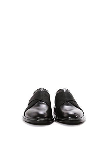 Givenchy Homme BM08370848001 Noir Cuir Mocassins