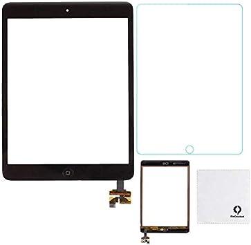 PANTALLA TACTIL PARA iPad mini A1454 NEGRO CON HOME IC CHIP ADHESIVOS CRISTAL ne