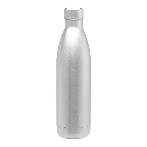 RTIC 126 Water Insulated, 25oz Bottle, Stainless Steel