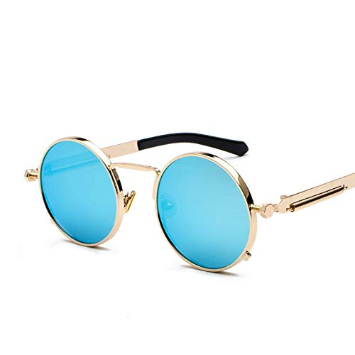 Kasuki 2018 Classic Round Sunglasses 12 Colors Metal Springs ...