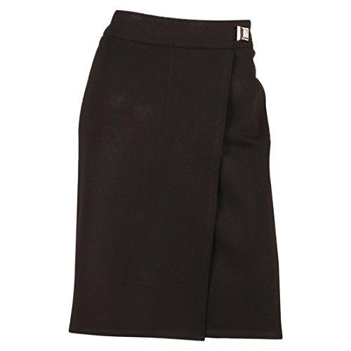 Women's 'EURO Stretch' Stretch Front Pleat Pencil Skirt,Black,8 (Petite Linen Pencil Skirt)