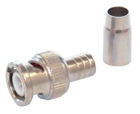 - Cable Coupler, BNC, RG58 Plenum Coax, PK10