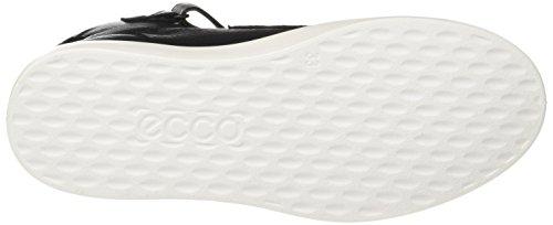 Ecco Unisex-Kinder S8 Hohe Sneaker Schwarz (Black)