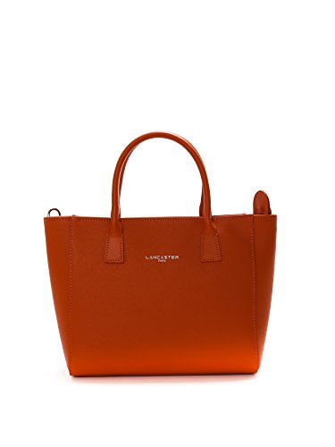 lancaster-paris-womens-42164orange-orange-leather-handbag