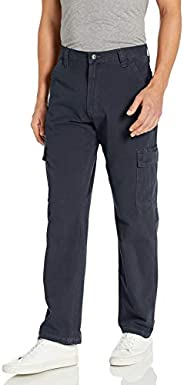 Wrangler Mens Classic Twill Relaxed Fit Cargo Pant Casual Pants