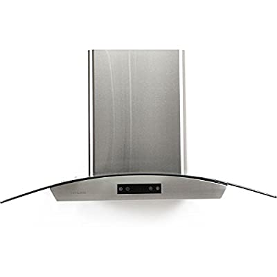 "CAVALIERE SV198D-36E Wall Mounted Range Hood Stainless Steel 36"" Inch"
