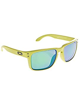 a145e3bec3 Image Unavailable. Image not available for. Colour  Oakley Holbrook  Sunglasses OO9102-72 Heaven   Earth Collection Matte Fern   Jade Iridium  Polarized