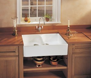 Franke MHK720-31WH Manor House Drop In/Farmhouse Fireclay Kitchen Sink White Manor House Drop In/Farmhouse Fireclay Kitchen (Franke Manor House Kitchen Faucets)