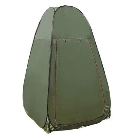ポータブルプライバシーシャワートイレ キャンプ ポップアップテント グリーン B01JQ4OP2O