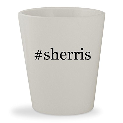 Oloroso Sherry (#sherris - White Hashtag Ceramic 1.5oz Shot Glass)