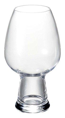 - Luigi Bormioli Birrateque Craft Beer Glasses Wheat (Set of 2), 26.5 oz, Clear