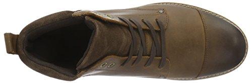 Bianco Casual Boot Jja16, Zapatillas de Estar por Casa para Hombre Marrón