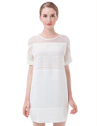 Jollychic - Vestido - para mujer blanco