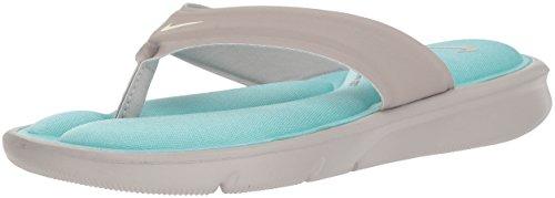 - Nike Women's Ultra Comfort Thong Athletic Sandal, Cobblestone/sail/Aqua, 9 B US