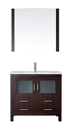"""Virtu USA KS-70036-C-ES-001 Dior 36"""" single Bathroom Vani..."""