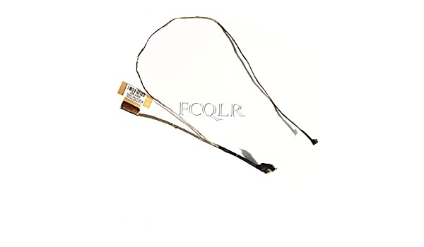FCQLR New Compatible for HP 240G3 246G3 14-R021TX TPN-C116 LCD Lvds Cable 757601-001 DC02001XI00