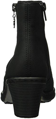 Classiques Schwarz Schwarz Bottes Noir Rieker 02 Femme 74951 EnwF8xzpqZ