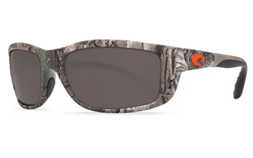 Costa Del Mar Zane Sunglasses, Realtree Xtra Camo, Gray 580P - Camo With Sunglasses Lenses
