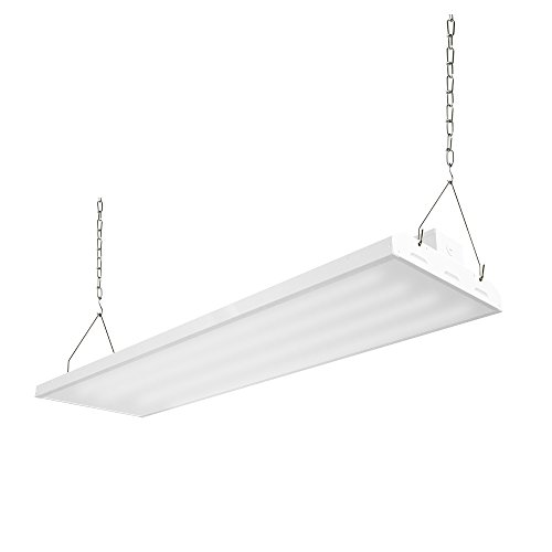 ELECTRICAL SUPPLY 4FT 225w LED Linear High Bay Light, 29300 lumen, 4000k DLC 4.2 Qualified and UL Certified,5 years warranty,Commercial Lighting Indoor Industrial Warehouse Lighting by ELECTRICAL SUPPLY