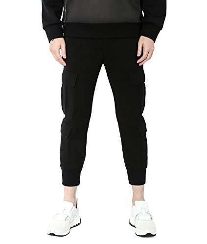 wiberlux-neil-barrett-mens-multi-pocket-jogger-pants-48-black