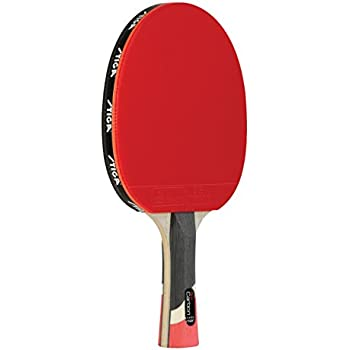 0be0069190 STIGA Pro Carbon Performance-Level Table Tennis Racket with Carbon  Technology for Tournament Play