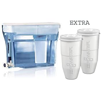 Amazon Com Zerowater Zp 013 8 Cup Blue Water Filtration