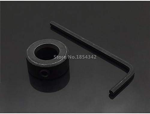 Katur Foret /à bois de 9 mm avec poign/ée ronde et collier darr/êt de profondeur pour gabarit de poche 9 mm
