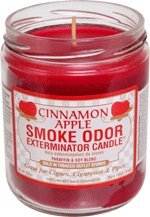 Smoke Odor Exterminator Candle Cinnamon Apple 13oz