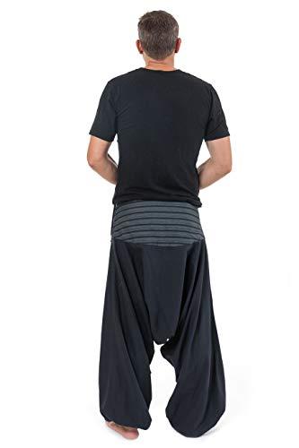 Noir Sarouel Rayures Fantazia Pantalon Noire Bali tBwqxq58