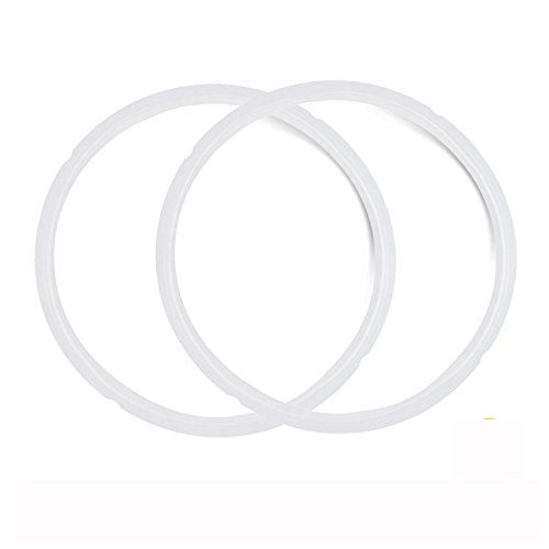 Pack of  2 Silicone Sealing rings for Instant pot 5 and 6 quart.