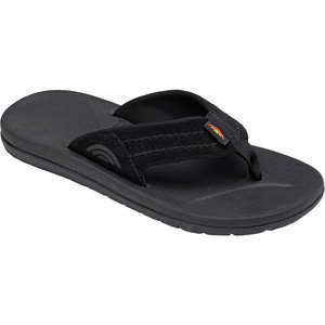 Rainbow Sandals Men's EAST CAPE RUBBER Black Leather And Synthetic Sandals 11 D(M) US