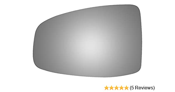 Burco 4287 Flat Driver Side Replacement Mirror Glass 2009, 2010, 2011, 2012, 2013, 2014 for 2009-2014 Honda Fit Mount Not Included