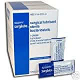 Surgilube Lubricating Jelly, 3gm Foil Packs, 144/Bx