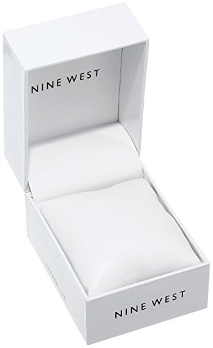 Nine West Women S Nw 2228svrg Rose Gold Tone Mesh Bracelet Watch