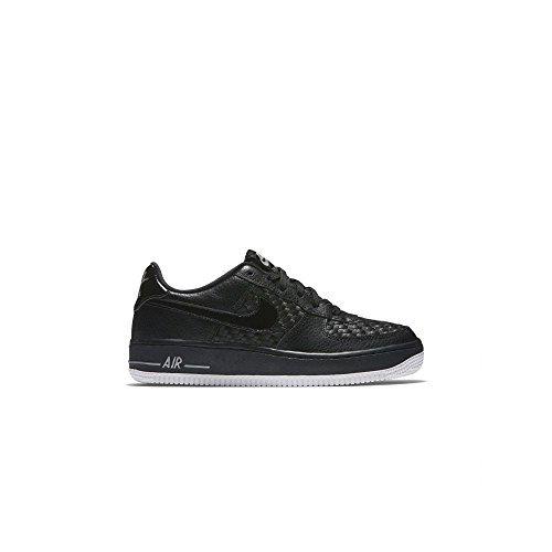 NIKE Boys Air Force 1 LV8 (GS) Athletic Shoes (7 M US Big Kid, Black/White)